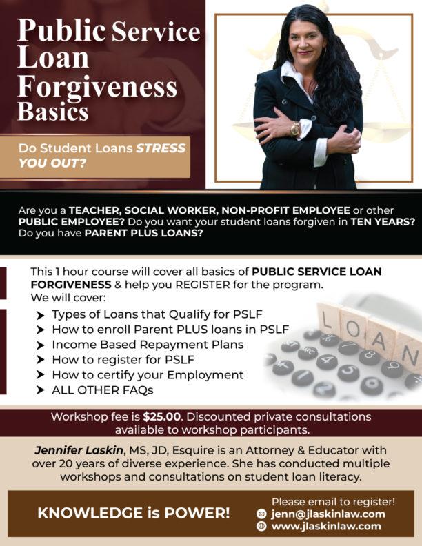 Public Service Loan Forgiveness Basics